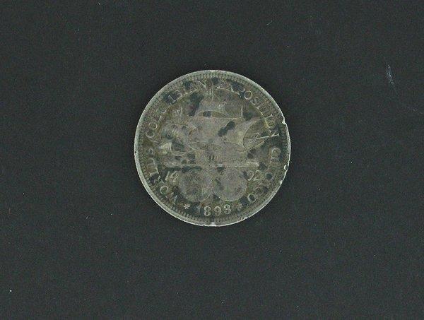 1003: 1893 US Columbian Half Dollar Chicago World Expos