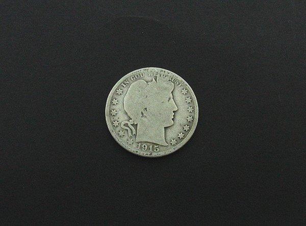 1005: 1915 Half Dollar Coin, COLLECTORS' ITEM!!