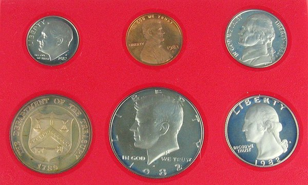 1007: 1982 US Proof Set Coin, COLLECT!
