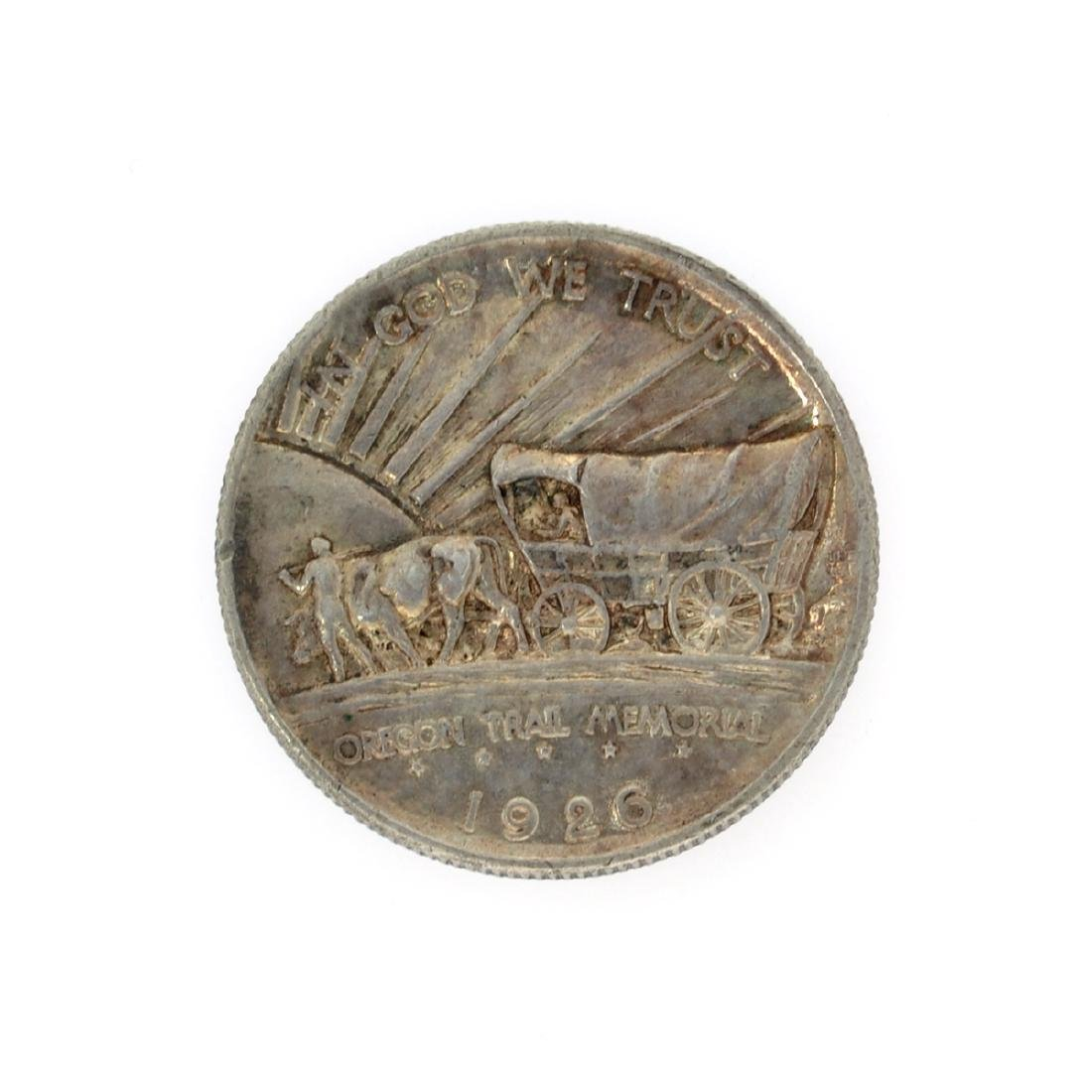 Rare 1926 Oregon Trail Memorial Half Dollar Coin
