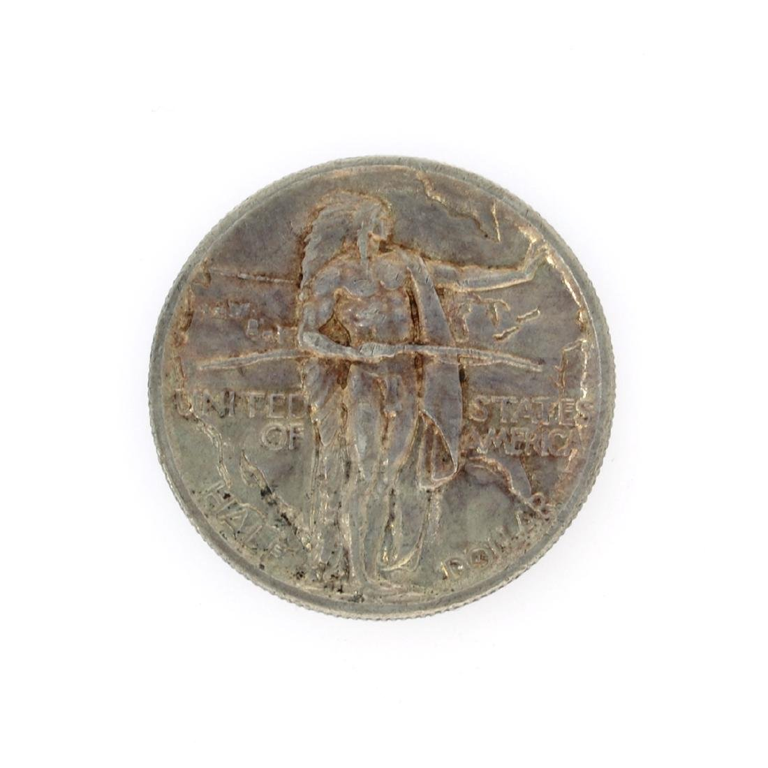 Rare 1926 Oregon Trail Memorial Half Dollar Coin - 2