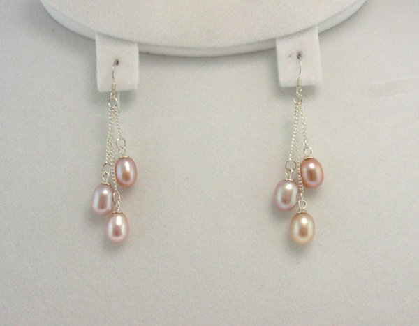 2005: Sterling Silver Pearl Earrings, INVEST!