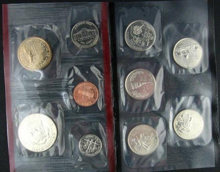2021: GOV: 2000 US Uncirculated Mint Set Coin, COLLECTA
