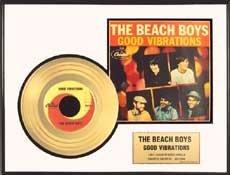 6009: THE BEACH BOYS ''Good Vibrations'' Gold LP