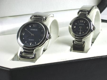 20: 20: GOV: Geneva Quartz His and Hers Watches, INVEST