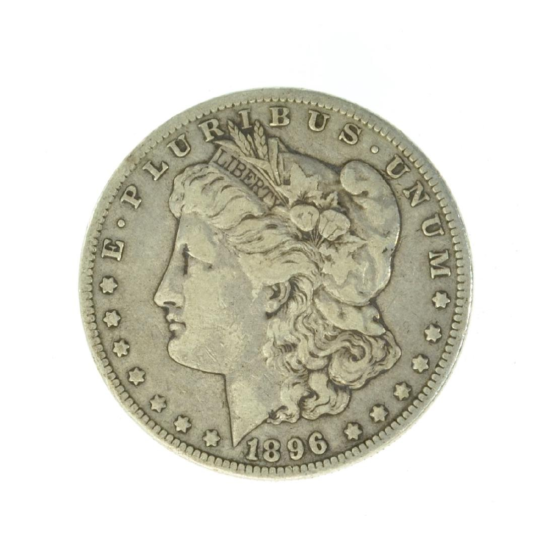 1896-O Silver Morgan Dollar Coin (JG)