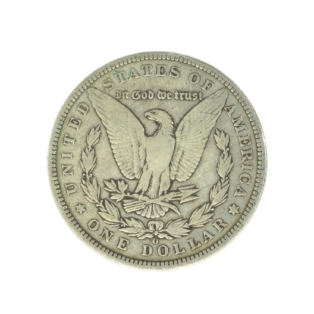 1896-O Silver Morgan Dollar Coin (JG) - 2