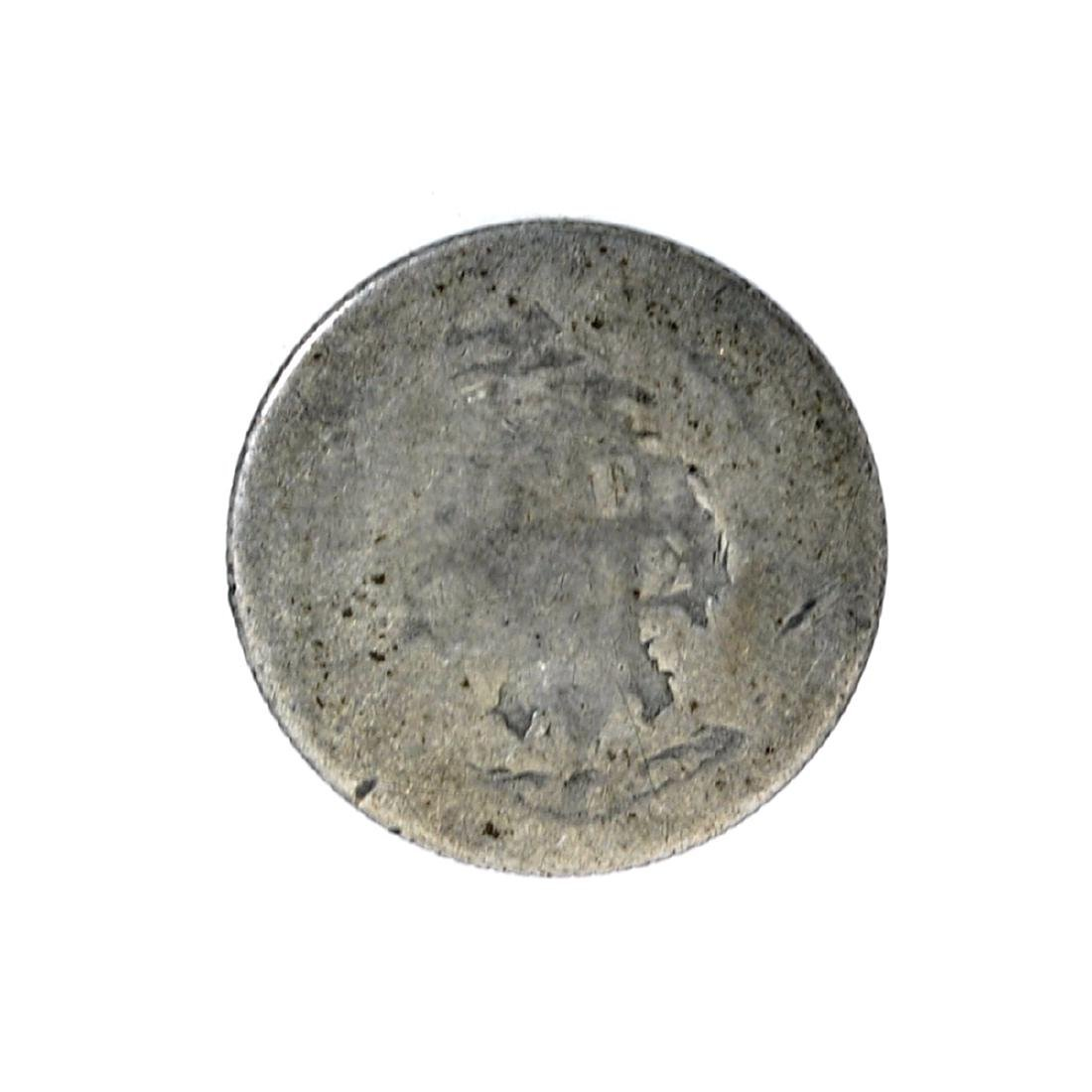 1875 Liberty Seated Dime Coin - 2