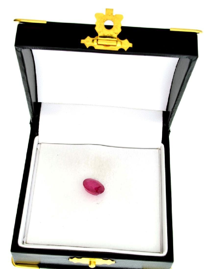 APP: 5.6k 5.06CT Oval Cut Ruby Gemstone