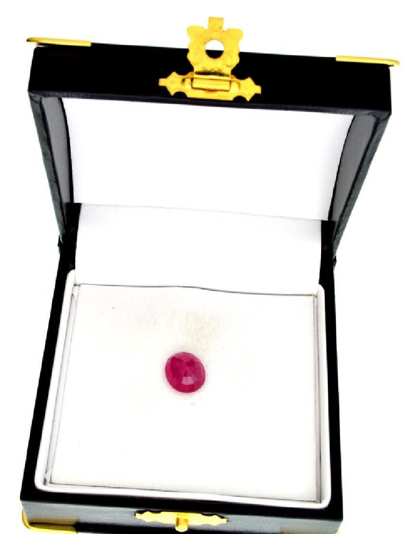 APP: 5.6k 5.06CT Oval Cut Ruby Gemstone - 2