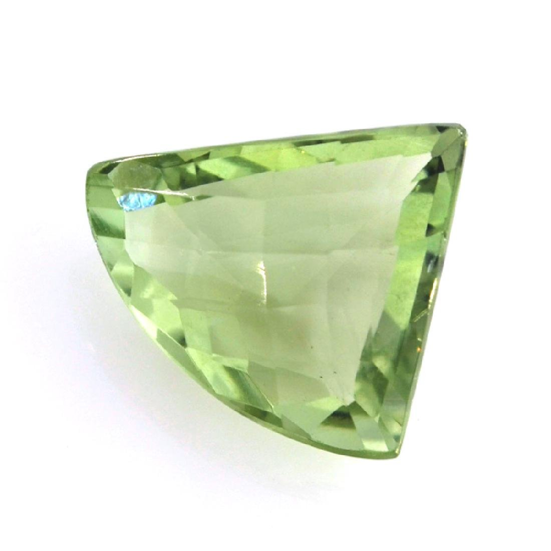 APP: 0.4k 9.67CT Free Form Cut Green Quartz Gemstone
