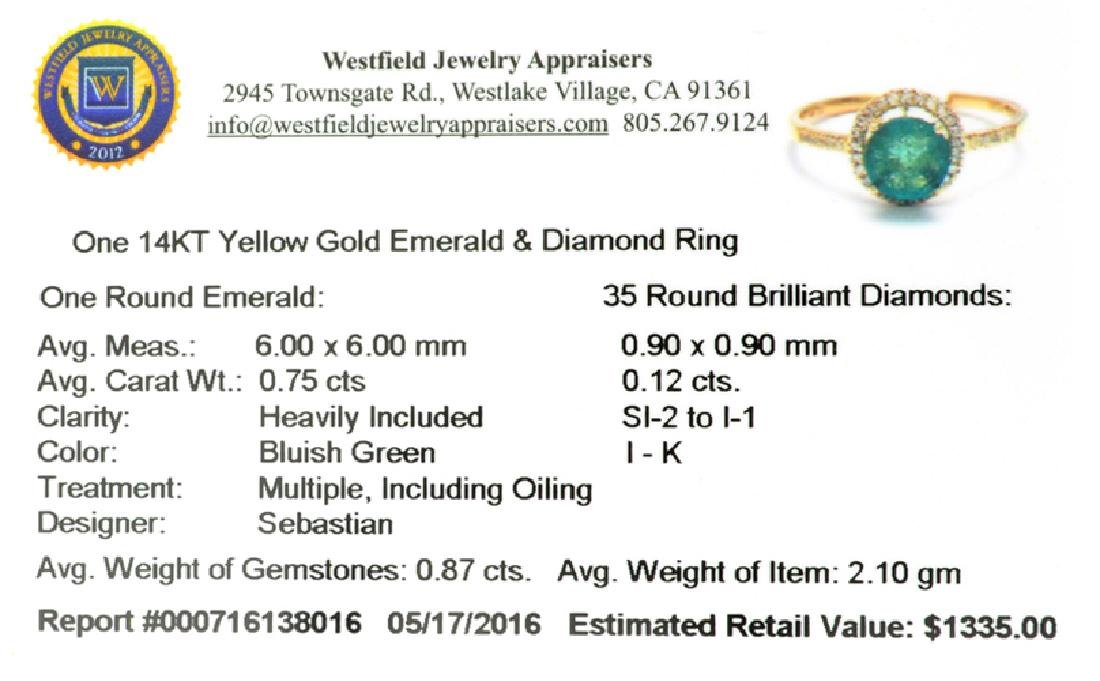 APP: 1.3k Fine Jewelry Designer Sebastian 14KT Gold, - 2
