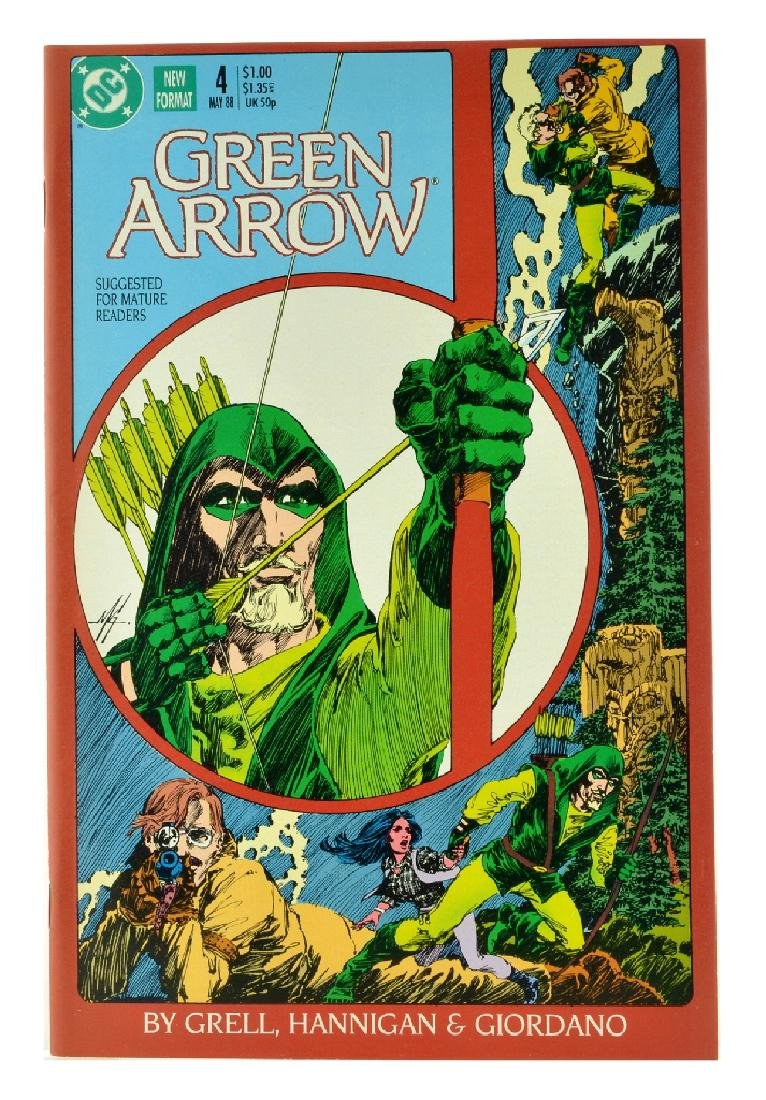 Green Arrow (1987 1st Series) Issue 4