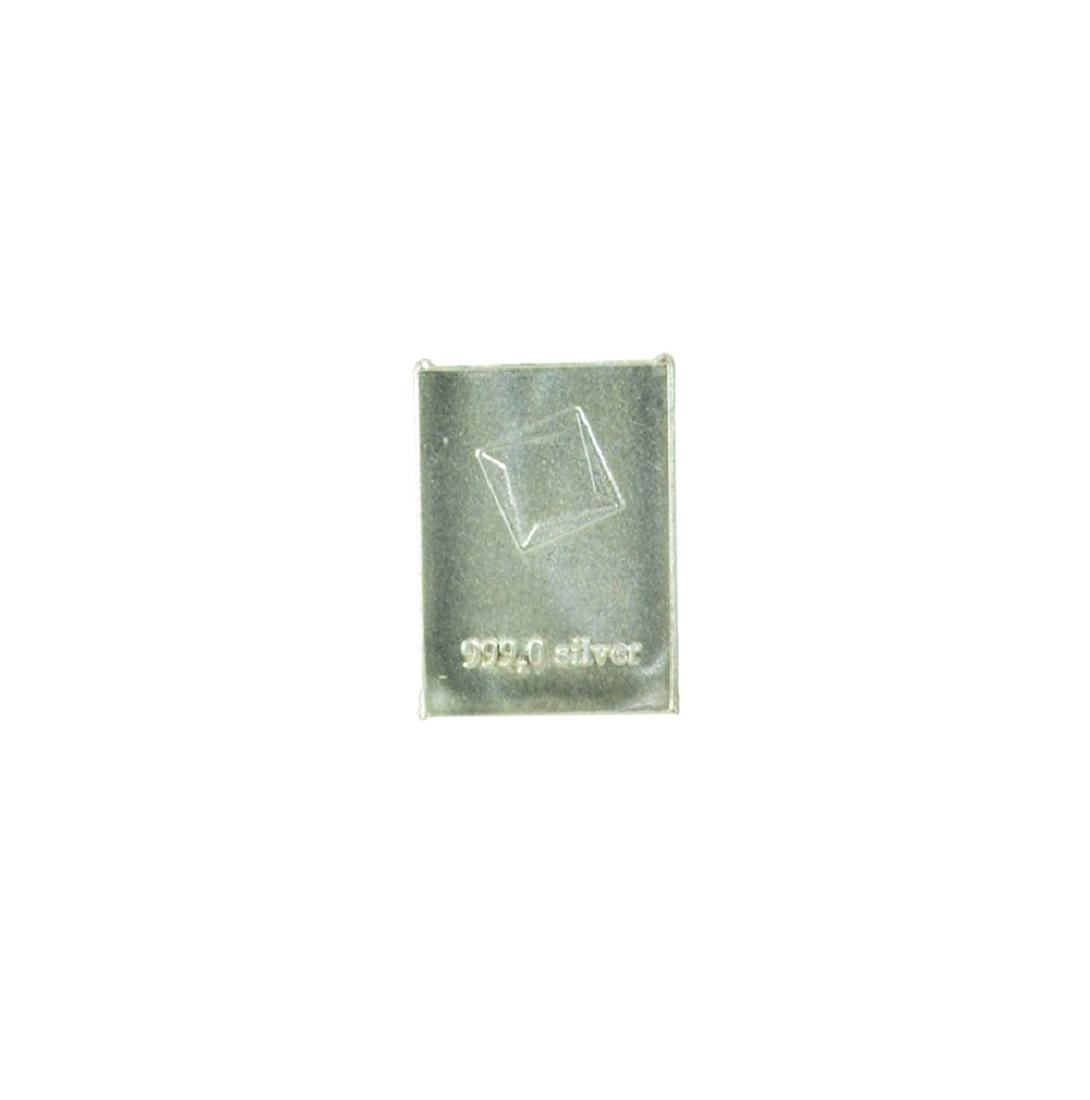 Valcambi Suisse 1g Silver Bar - 2