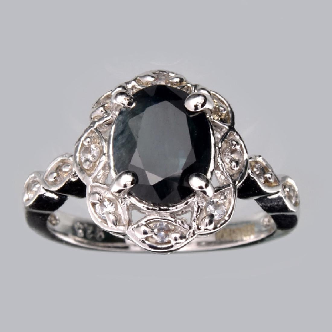 APP: 2.5k Fine Jewelry Designer Sebastian 2.25CT Blue