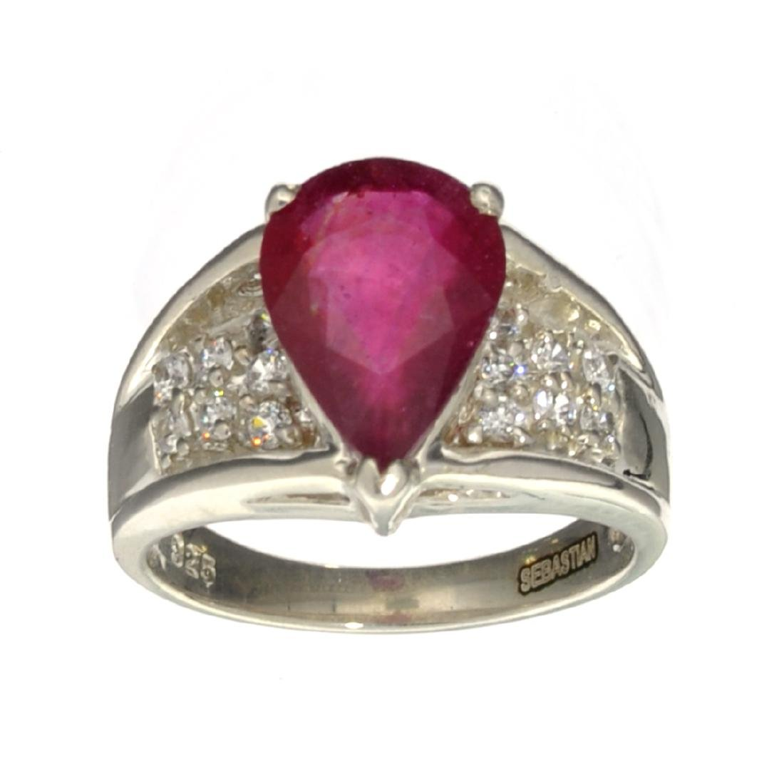 APP: 1k Fine Jewelry Designer Sebastian, 3.68CT Ruby