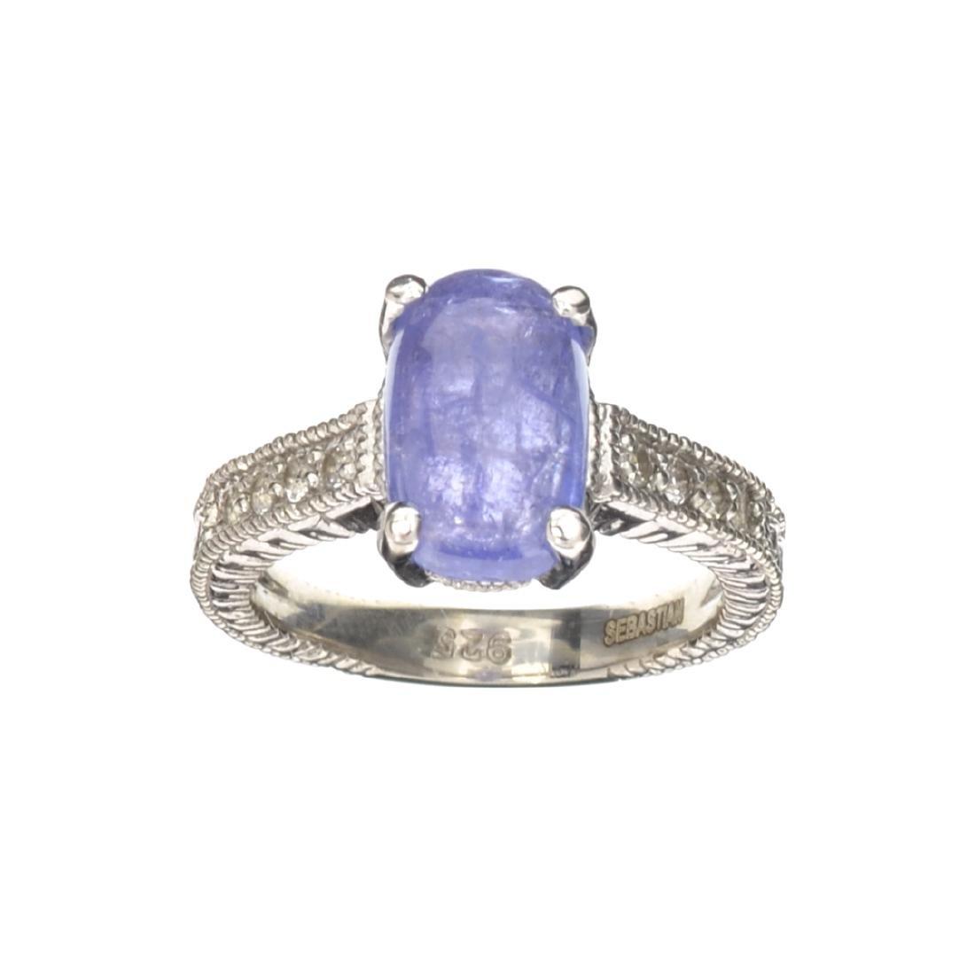 APP: 0.7k Fine Jewelry Designer Sebastian, 2.86CT Blue