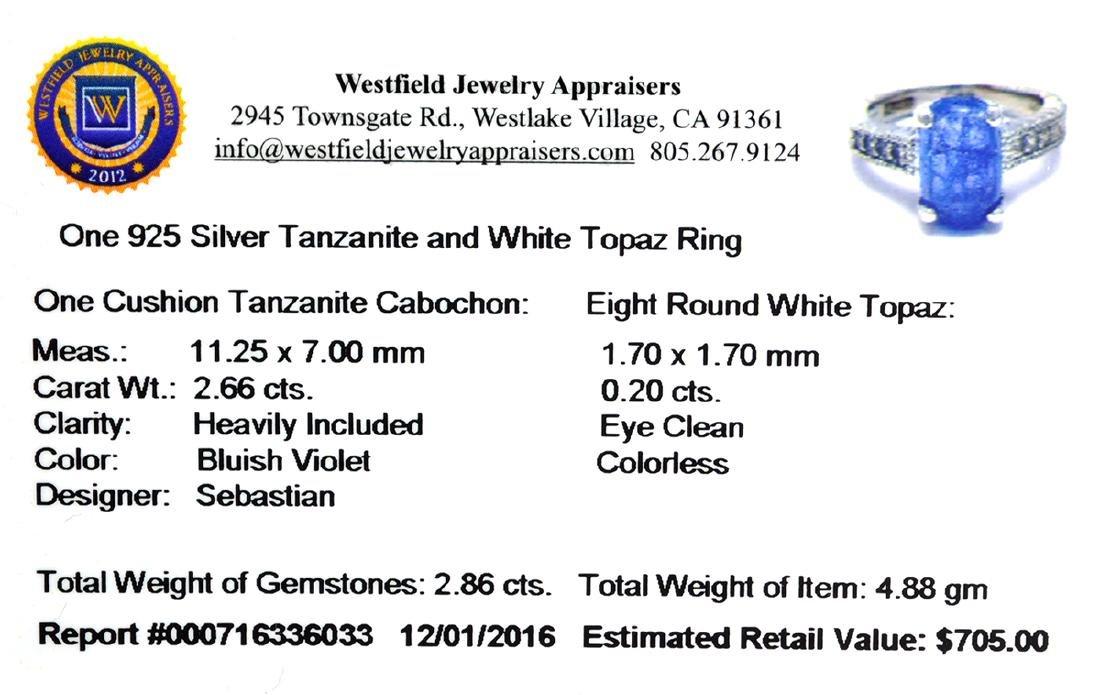 APP: 0.7k Fine Jewelry Designer Sebastian, 2.86CT Blue - 2