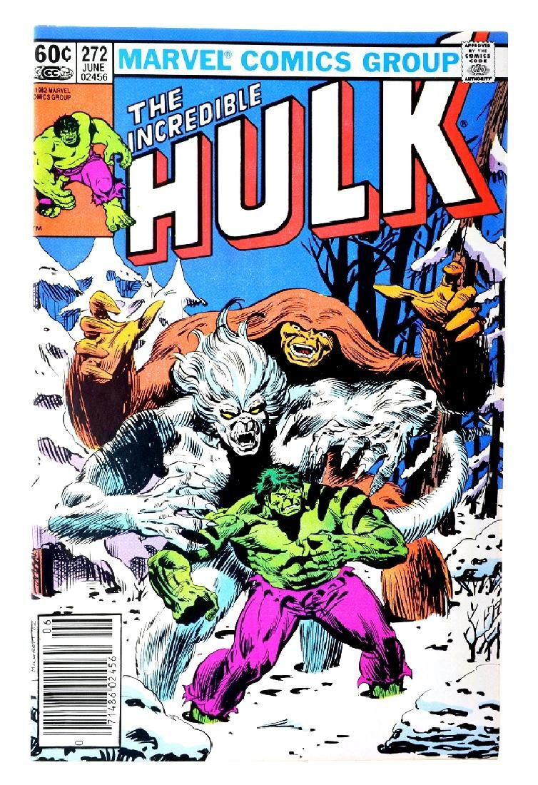 Incredible Hulk (1962-1999 1st Series) Issue 272