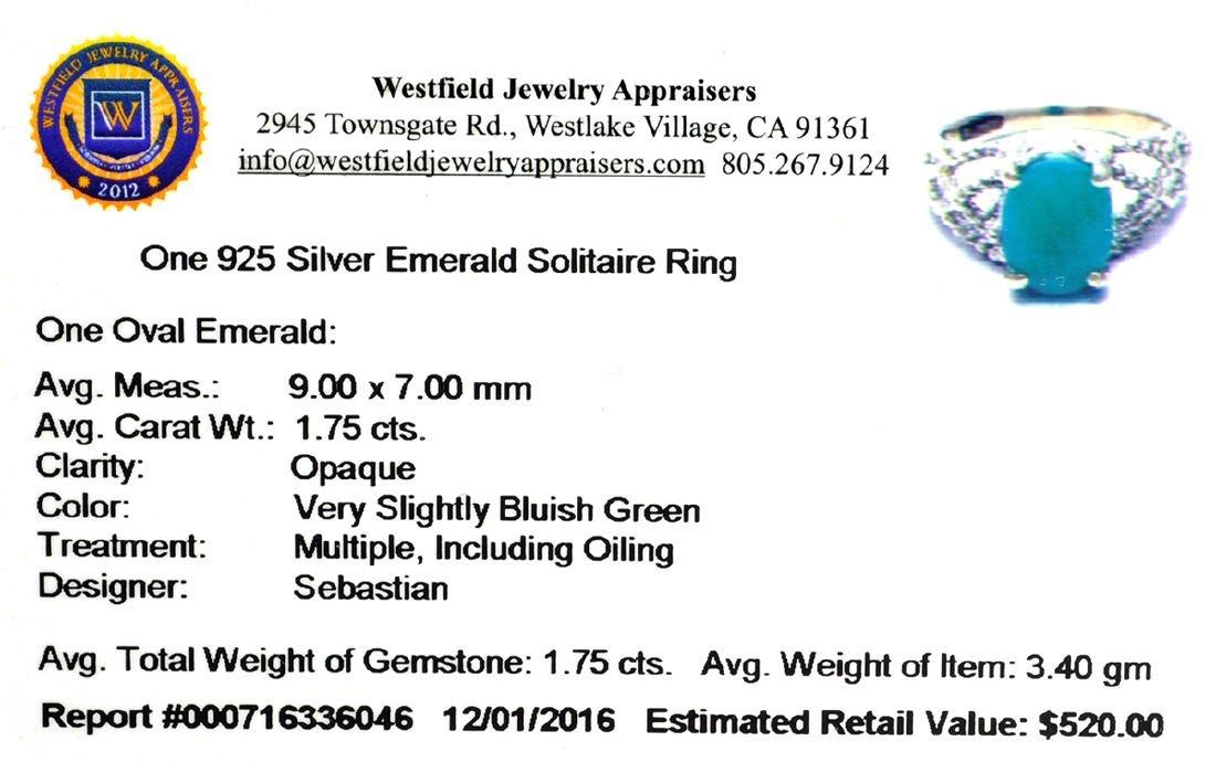 APP: 0.5k Fine Jewelry Designer Sebastian, 1.75CT Oval - 2