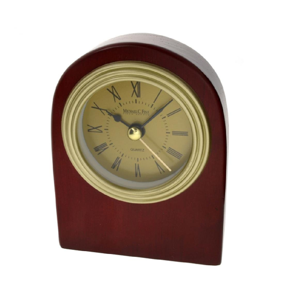 Solid Wood Standing Desk Top Clock New In Box