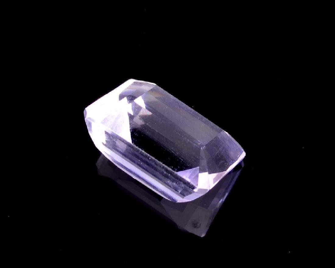 APP: 0.7k 22.00CT Emerald Cut Amethyst Quartz Gemstone