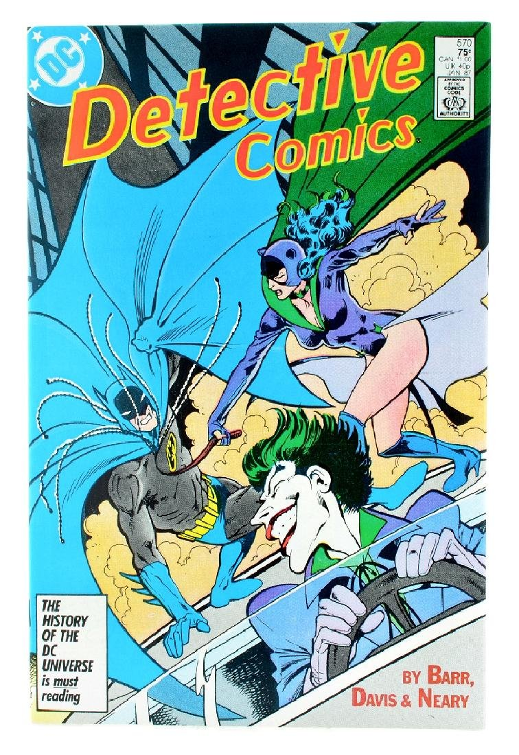 Detective Comics (1937 1st Series) Issue 570