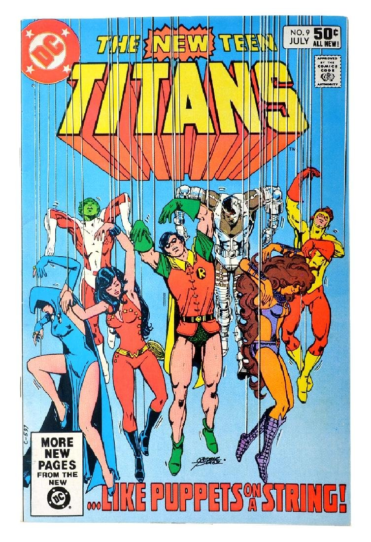 New Teen Titans (1980) Issue (Tales of ...) Issue  9