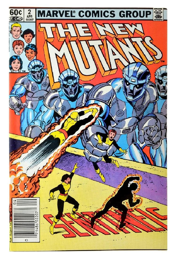 New Mutants (1983 1st Series) Issue 2