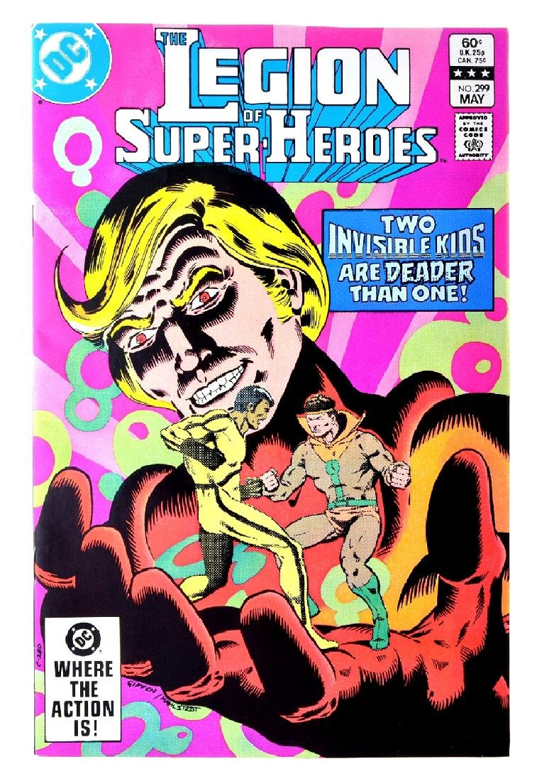 Legion of Super-Heroes (1980 2nd Series) Issue 299