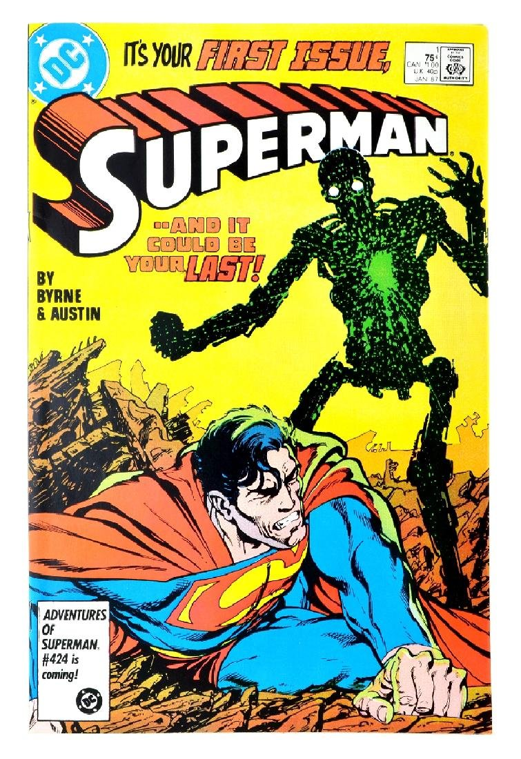 Superman (1987 2nd Series) Issue 1