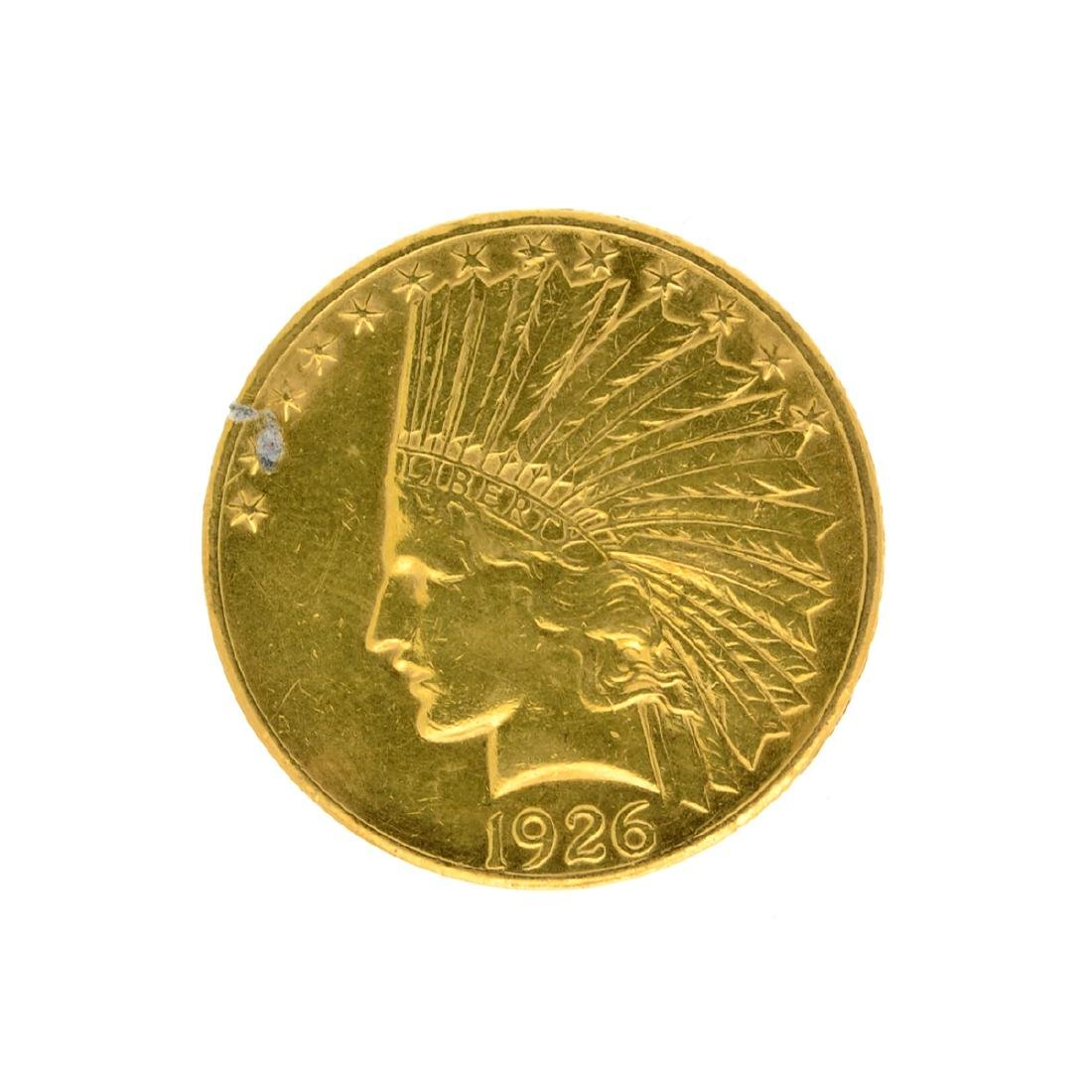 1926 $10 U.S. Indian Head Gold Coin