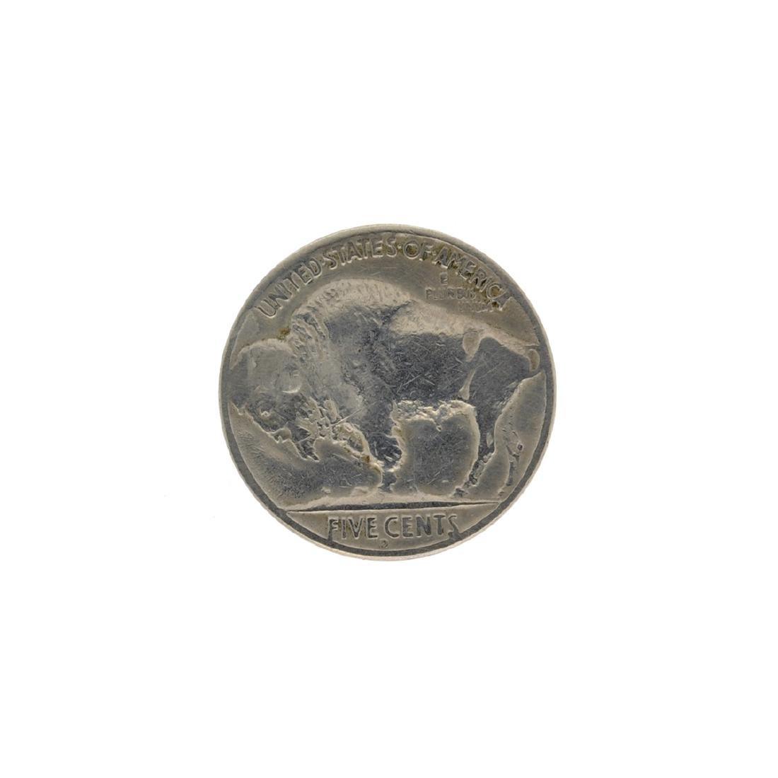 1937-D 3 Legged Buffalo Nickle Key Coin - 2