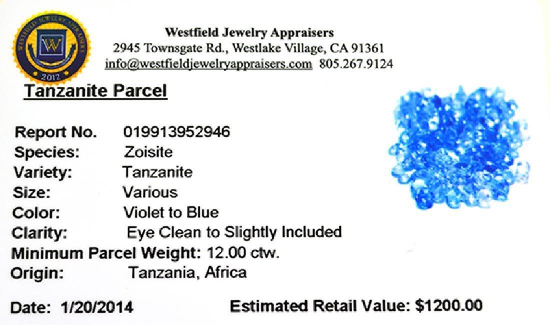 APP: 1.2k 12.00CT Tanzanite Parcel - 2