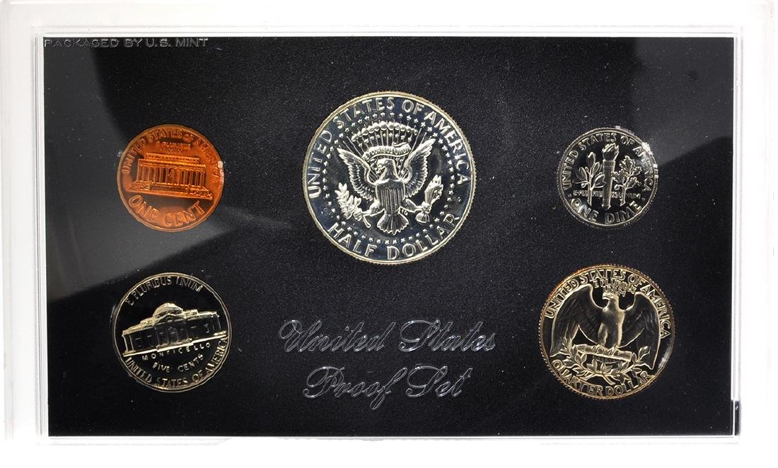 1969 United States Proof Coin Set - 2