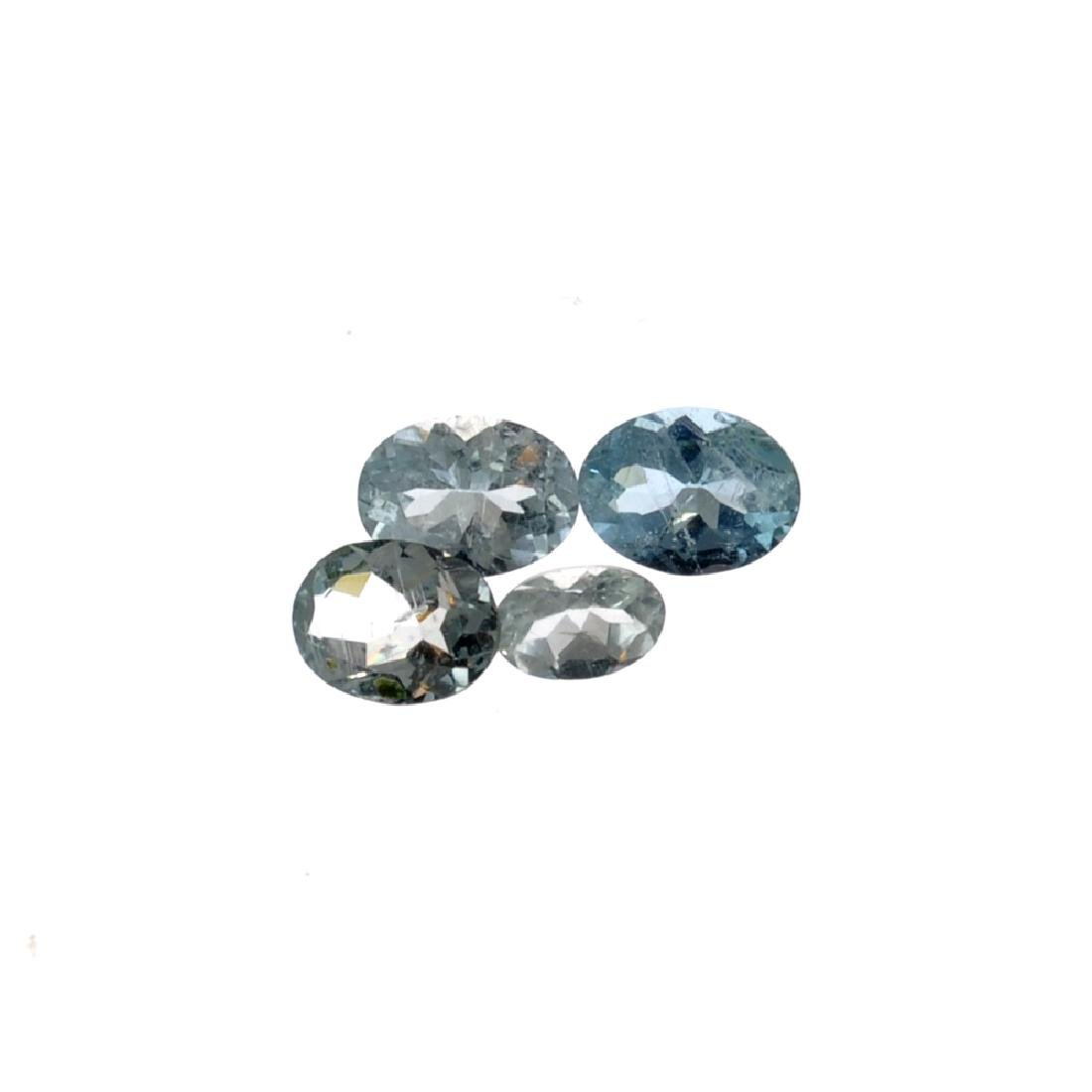 APP: 0.9k 3.03CT Oval Cut Aquamarine Parcel