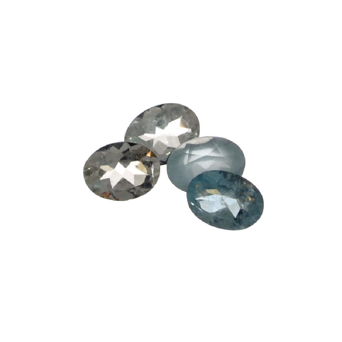 APP: 1.2k 4.12CT Oval Cut Aquamarine Parcel