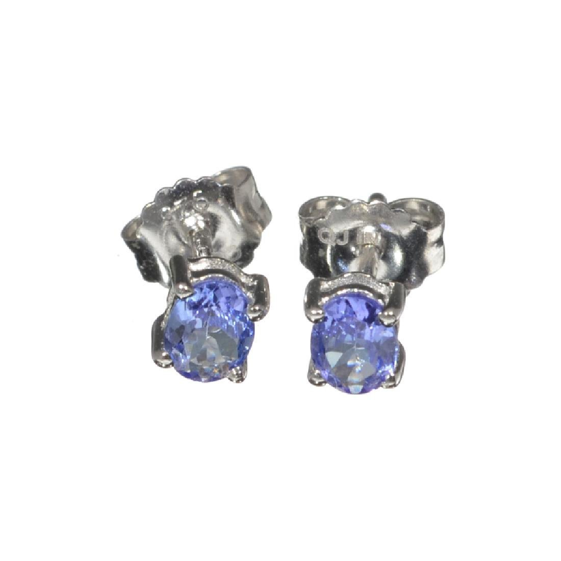 APP: 0.7k Fine Jewelry 0.76CT Oval Cut Tanzanite And