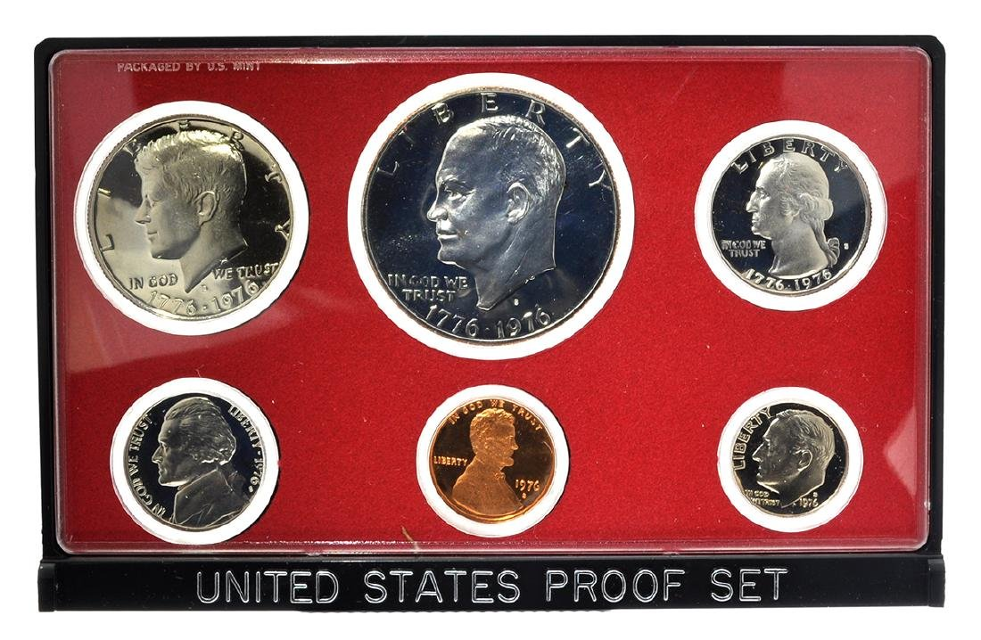 1976 United States Proof Coin Set