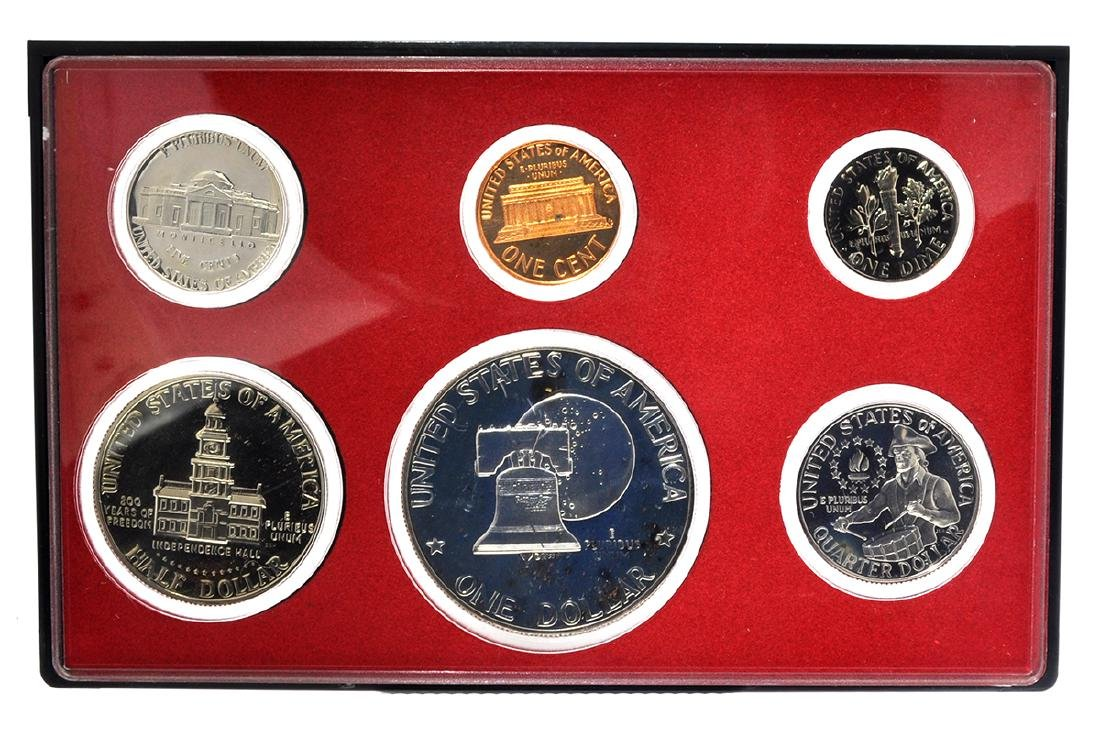 1976 United States Proof Coin Set - 2