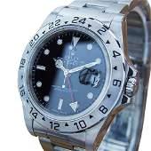 *Rolex Explorer II 16570 GMT Mens Swiss Made Stainless