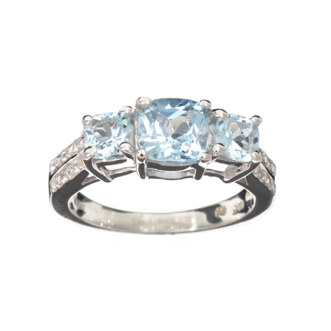 APP: 0.5k Fine Jewelry 1.82CT Topaz And White Sapphire