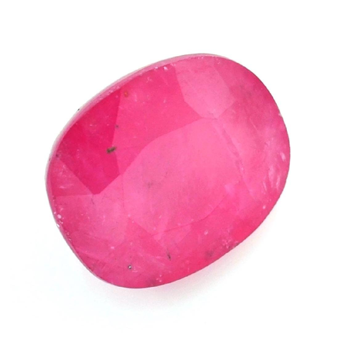 APP: 2.5k 7.57CT Oval Cut Ruby Gemstone