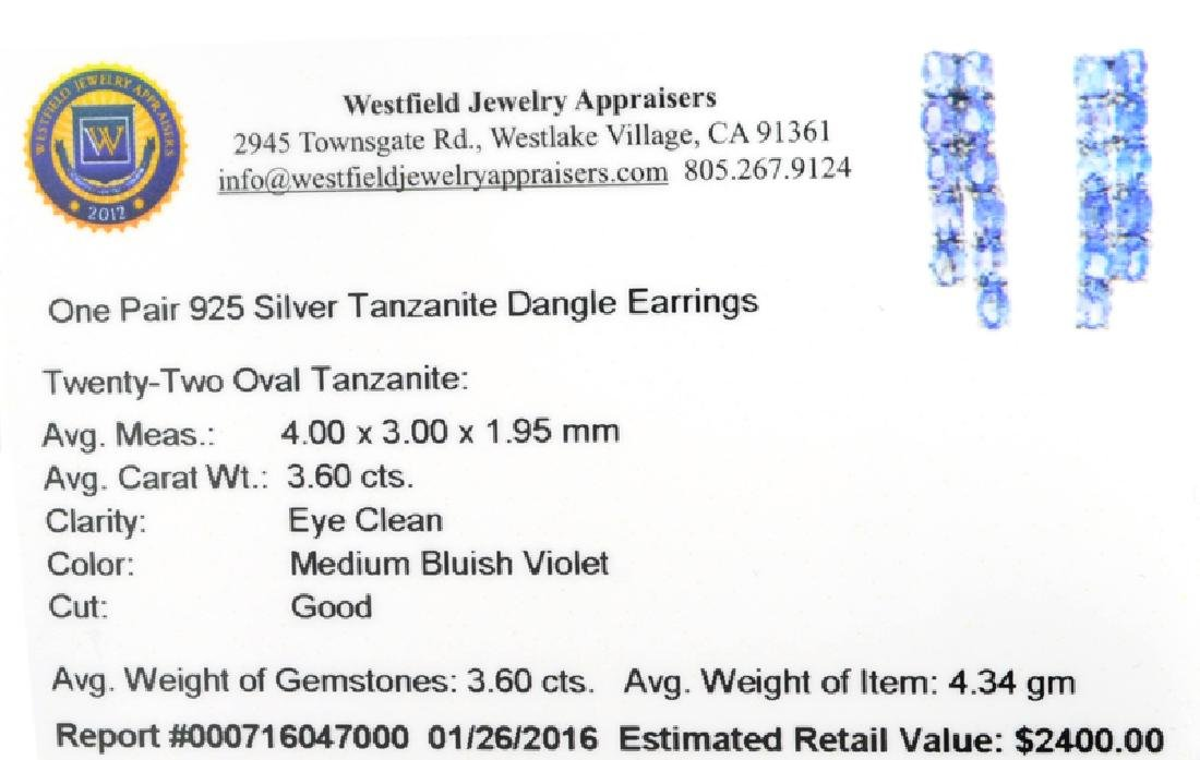 APP: 2.4k Fine Jewelry 3.60CT Oval Cut Tanzanite And - 2