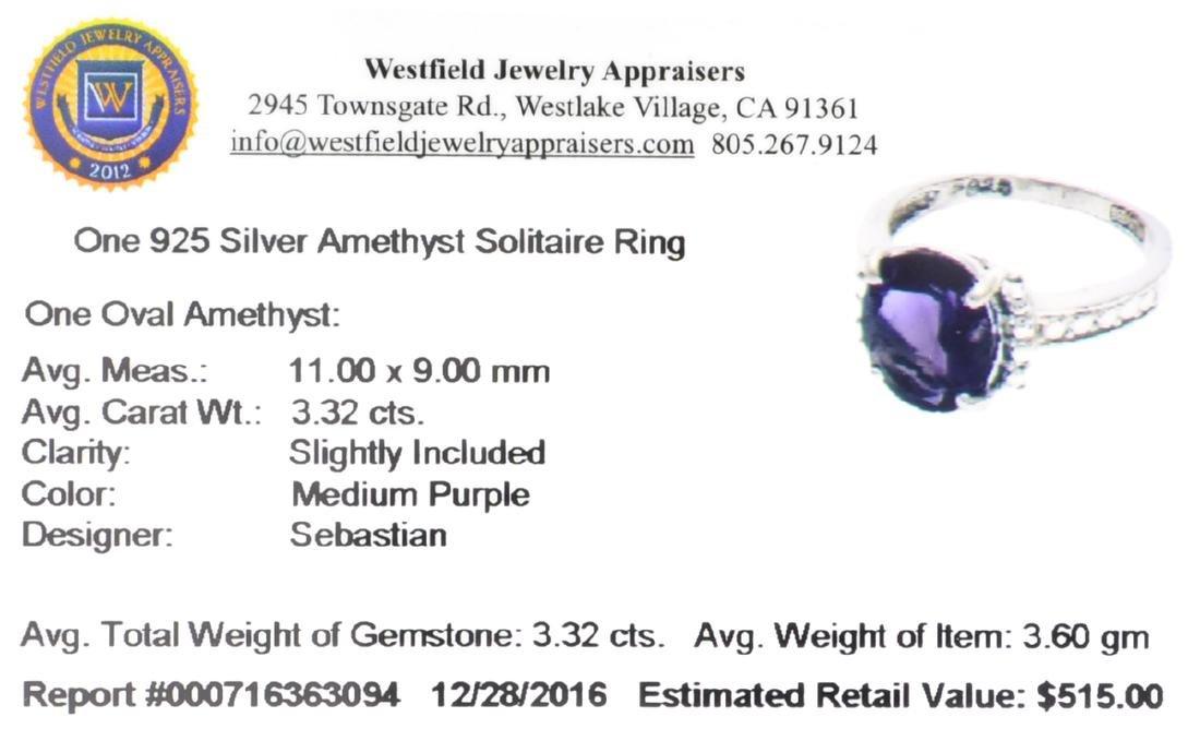 APP: 0.5k Fine Jewelry Designer Sebastian, 3.32CT Oval - 2