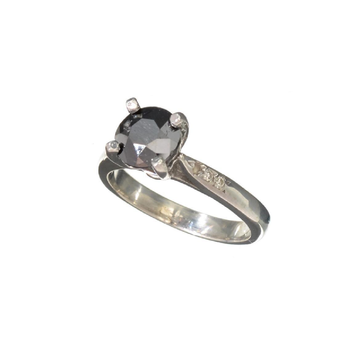 APP: 2.4k Fine Jewelry 2.30CT Round Cut Black