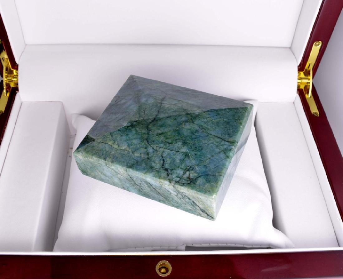 APP: 7.7k 1,475.00CT Rectangle Cut Green Beryl Emerald