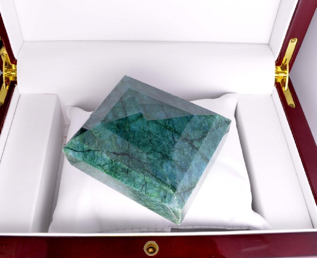 APP: 7.7k 1,475.00CT Rectangle Cut Green Beryl Emerald - 2