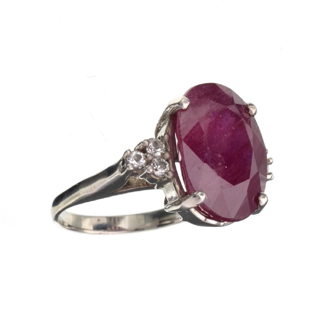 APP: 4k Fine Jewelry Designer Sebastian 12.65CT Ruby