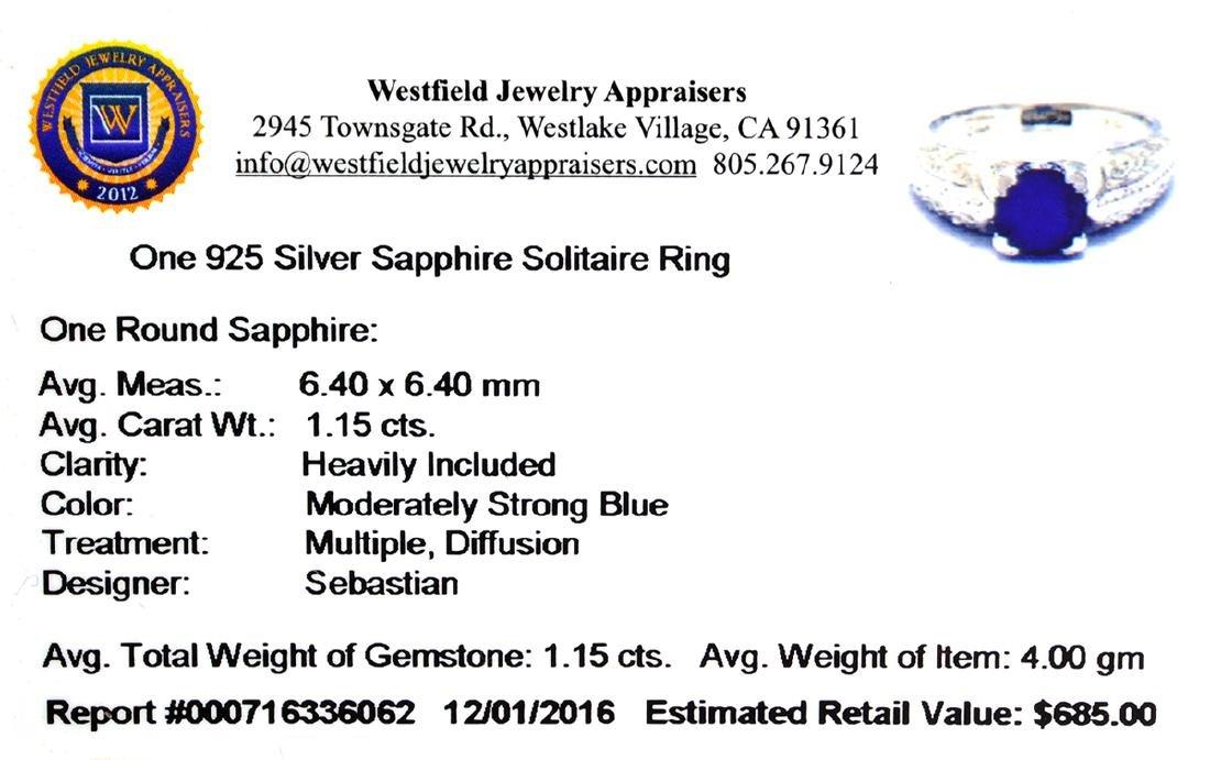 APP: 0.7k Fine Jewelry Designer Sebastian, 1.15CT Round - 2